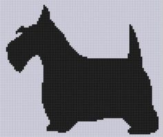 Looking for your next project? You're going to love Scottie Dog Cross Stitch Pattern by designer Motherbeedesigns. - via @Craftsy