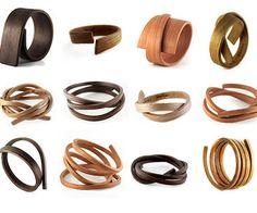bent wood bracelets