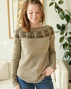 Ravelry: Tattered Sweater pattern by Caitlin Shepherd