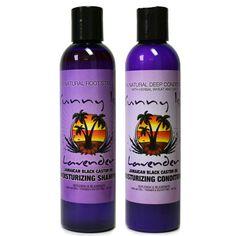 SunnyIsleJamaicanBlackCastorOil.com - Lavender Jamaican Black Castor Oil Shampoo and Conditioner Bundle, $25.50 (http://www.sunnyislejamaicanblackcastoroil.com/lavender-jamaican-black-castor-oil-shampoo-and-conditioner-bundle/)