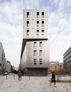 data architectes 183 logements pour étudiants et chercheurs sac gare de rugis paris fr