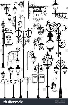 stock-photo-retro-and-modern-street-lanterns-81908464.jpg 1,037×1,600 pixels