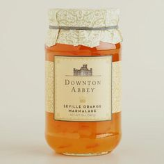 Enjoy a proper teatime in the spirit of Lord and Lady Grantham with Downton Abbey Orange Marmalade, a traditionally bittersweet complement to scones.