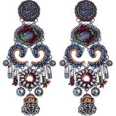Resonance earrings by Ayala Bar Jewelry