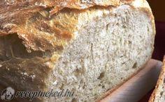 Rusztikus krumplis kenyér recept fotóval