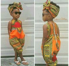 US 2019 Infant Baby Girls Kids African Jumpsuit Clothes Toddler Playsuit Outfit - fashion - Kids Outfit African Dresses For Kids, African Babies, African Children, African Women, Baby African Clothes, African Beauty, African Inspired Fashion, African Print Fashion, Africa Fashion