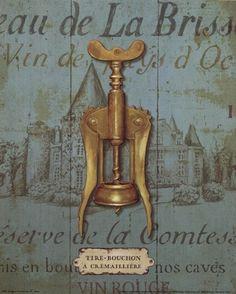 Antique Corkscrew III Daphne Brissonnet