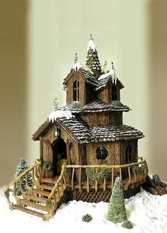 Prize-Winning Gingerbread Houses - Slashfood