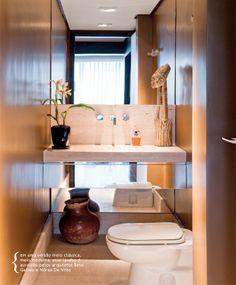 Classic décor for bathrooms. #decor #interior #design #casadevalentina