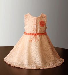 Lace Girl Dress by Illiana on Etsy