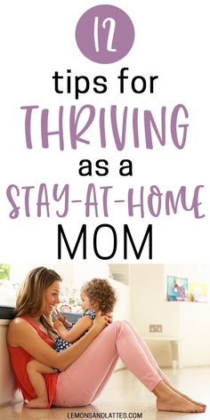 Stay-at-home mom survival guide: 12 tips for thriving as a stay-at-home mom (how to stay happy and organized). How to be an organized stay-at-home mom. Learn how to enjoy being a stay-at-home mom. Tips to keep you happy, healthy, and organized. Mom Advice, Parenting Advice, Kids And Parenting, Free Advice, Peaceful Parenting, Parenting Styles, Single Parenting, Mom Hacks, Baby Hacks