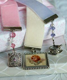 Beautiful Velvet Vintage bookmarks