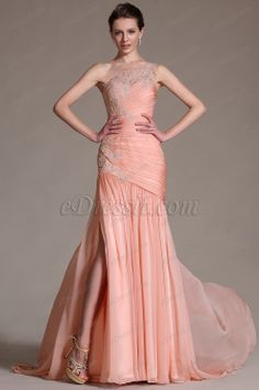 eDressit 2014 New Elegant Pink One Shoulder Lace Evening Dress Prom Gown (02144701)  $212.  $42 more to change color.  Love it!  Get for David and Stephanie wedding?