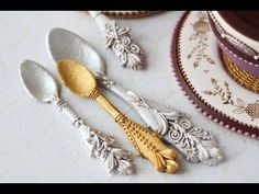 #NEW VIDEO ALERT: How to Make 3-D Cookie Silverware byJulia M Usher of Recipes for a Sweet Life
