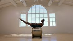 See how beautiful Pilates movement can be with this Wunda Chair Dance by dancer . - See how beautiful Pilates movement can be with this Wunda Chair Dance by dancer and Pilates teacher - Pilates Workout, Cardio, Pilates Reformer Exercises, Pilates Video, Abs Workout Video, Pilates For Beginners, Ab Workout At Home, At Home Workouts, Mom Workout