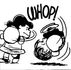 Peanuts comics; why was my nickname Lucy? ha!