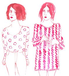 Girls : Leah Reena Goren Leah Goren, Surface Pattern, Cool Photos, Fan Art, Illustration, Girls, People, Life, Inspiration