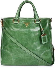 http://fancy.to/rm/469080364002843705  Prada ~ Bag Green