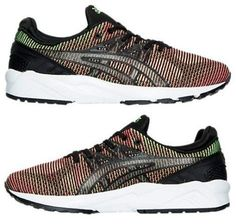 273d6ba63 ASICS GEL-KAYANO TRAINER EVO MEN s CASUAL GECKO GREEN - GUAVA - WHITE  AUTHENTIC