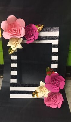 This beautiful Kate Spade inspired photo Frame can be used for Birthdays, Bridal showers, baby showers and much more! Photo Frame can be held vertical or horizontal for wonderful photos! This frame is ready to ship! ***Due to the size of this frame when packaged, the post office