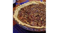 This unforgettable pecan pie gets its delicious and distinctive flavor from the bourbon.