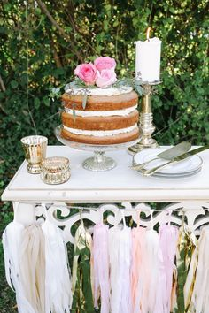 How to Throw the Best Backyard Bridal Shower Ever | Desiree Hartsock