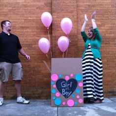 Baby reveal party