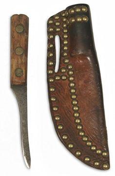 Blackfoot knife and sheath n.d.