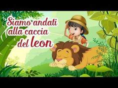 Siamo Andati alla Caccia del leon - Singing ja ja- Canzoni per bambini di Mela Music - YouTube