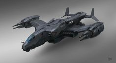 Attack aircraft by AlexIchim | Sci-Fi | 2D | CGSociety
