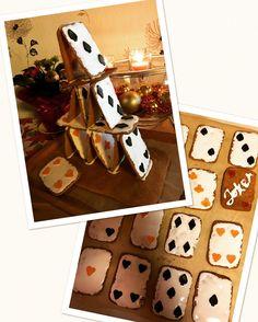 Piparkakku korttitalo Gift Wrapping, Gifts, Gift Wrapping Paper, Presents, Wrapping Gifts, Favors, Gift Packaging, Gift