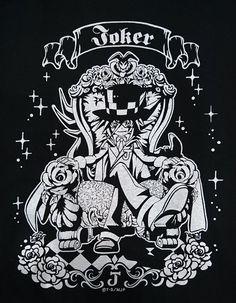 【次世代WHF】コロコロブースにて怪盗ジョーカーTシャツ販売中!銀色のジョーカーとシャドウ・ジョーカーがカッコいいです!