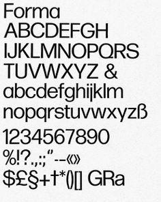 Giancarlo Iliprandi _ Forma (with Aldo Novarese), 1967-77, typeface for Nebiolo.