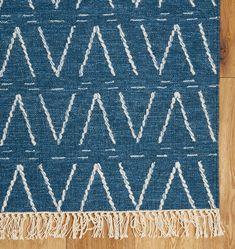 Sumac Flatweave Rug - Blue | Rejuvenation