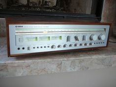 Vintage Yamaha stereo receiver. Click photo for more pics and story.