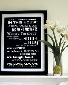 LOVE-I would like this in our home