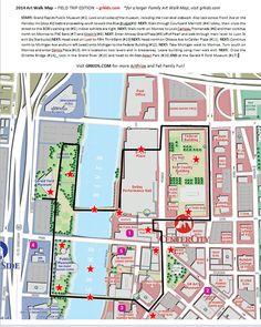 2014 artrprize FIELD TRIP art map