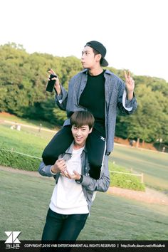 Heejun and Inseong