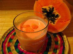 Batido de Papaya, Yum!