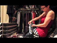Designer Rebecca Robeson's CLOSET gets a makeover.. no $$ spent! - YouTube -- if you are a member of the ADD/EFD club, you will LOVE this woman (and her ideas are darned impressive too!) ~mgh
