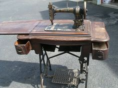late 1800's White treadle sewing machine