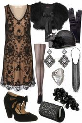 Vintage Fashion Gorgeous The Great Gatsby inspired outfit. This outfit would make THE PERFECT murder mystery costume! The Great Gatsby, Great Gatsby Fashion, Great Gatsby Outfits, Great Gatsby Party Dress, Gatsby Outfit Ideas, 1920s Fashion Party, 1920s Inspired Fashion, Flapper Fashion, 1920s Fashion Dresses