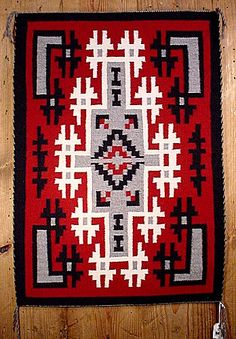 Ganado Navajo rug (I have one of these that was special made for my wedding!)