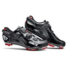 Sidi Men Mountain Bike Shoes Standard width Drako Black 46.5