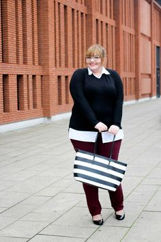 Back to Business  Outfit. Mode Für Mollige FrauenKlassische ModeMode Große  GrößenJunge ... f302143464