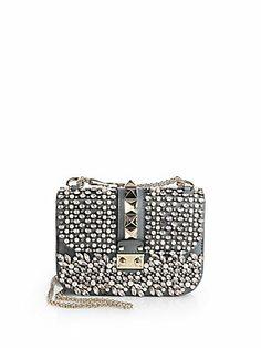Valentino Glamlock Small Flap Shoulder Bag