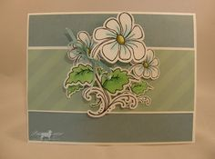 """""""Dancing Daisies"""" by Fred She Said   Patti's Paper Creations"""