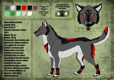 Adexus Baxter Reference Sheet by Daevirilis.deviantart.com on @deviantART