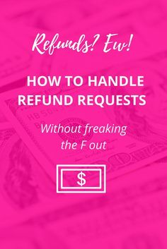 Refunds are a part of business and you should not be handling them yourself. Here's how to systematize and outsource refunds (even if you don't have a big budget)