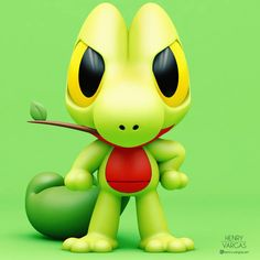 Treecko the Wood Gecko Pokémon The first Hoenn Starter is here! Who is your favorite Gen 3 Starter? Baby Pokemon, Pokemon Toy, Pokemon Party, Pokemon Fan Art, New Pokemon, Deadpool Pikachu, Cute Pokemon Pictures, Pokemon Starters, Cute Pokemon Wallpaper